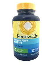 Renew Life Ultimate Flora Extra Care Probiotic 30 Billion 60 Caps Exp 01/2021