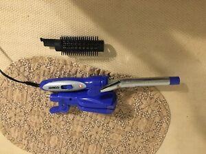 Conair 4 in 1 Curling Iron Brush Crimper & Flat Iron