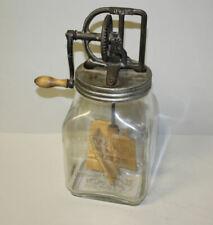 Antique Triple Marked Dazey No. 40 Glass Butter Churn – Patent 1922