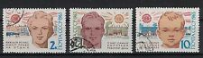 RUSSIA,USSR:1963 SC#2729-31 Used 15th anniversary of World Health Day.