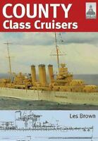 County Class Cruisers, Paperback by Brown, Les; Leon, Eric (ART); Baker, A. D...
