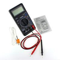 DT890G  AC DC Digital Multimeter DMM Volt Amp Ohm Temperature Meter