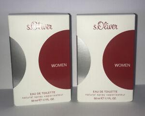 S. Oliver Women Eau de Toilette 2 x 50 ml