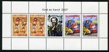 Surinam 2007 Weihnachten  Kind en Kerst Christmas 2162-63 Kleinbogen MNH