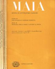 MAIA. RIVISTA DI LETTERATURE CLASSICHE n.s. anno XXVI