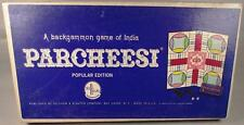Parcheesi Game of India 1967 - VG Condition!  100% Complete!