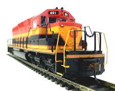 HO Scale Model Railroad Trains Layout Engine Kansas City Southern DC Locomotive