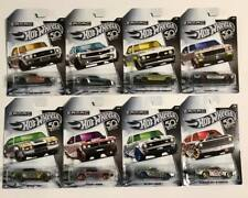 2018 Hot Wheels ZAMAC Set 50th ANNIVERSARY-Rare Exclusive-COMPLETE 8 Car Chase