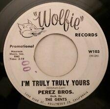 Perez Bros - Pop Rock Doo Wop 45 - I'm Truly Truly Yours - Wolfie - Mp3