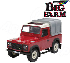 Britains Big Farm Land Rover Defender 90 Removable Canopy Working Steering 1:16