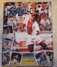 Album Panini super foot 1997-98
