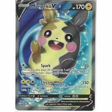 190/202 Morpeko V | Rare Ultra Card | Pokemon TCG Sword and Shield S&S Base Set