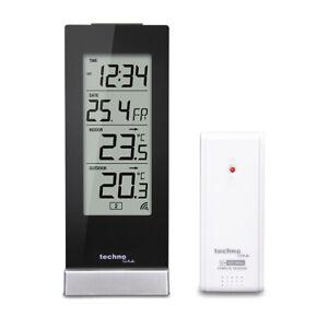 Technoline WS 9767 Wetterstation mit Funkuhr, Innen- und Außentemperaturanzeige