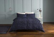 Pleats Quilt Duvet Cover Bedding Set Bed Linen Single Double Super King All Size