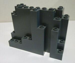 1 x LEGO® 6082 Ritter,Burg,Felsen,Berg,Klippe,Wall,Rock in neudunkelgrau Neuware