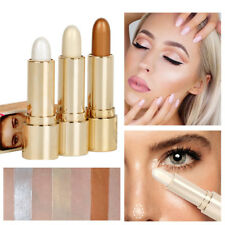 Makeup Natural Cream Face Eye Foundation Concealer Highlight & Contour Pen Stick