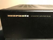 Integrated Amplifier Marantz PM-80   anno 1990