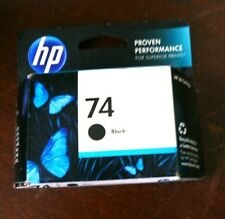 HP 74 Black Original Ink Cartridge CB335WN Genuine OEM