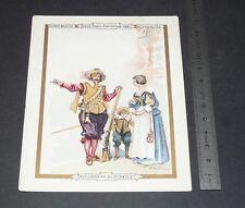 CHROMO 1900-1905 AU BON MARCHE VIEUX PARIS ACTIONNAIRE DU GRAND CHATELET