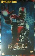 Ready! Hot Toys MMS145 Iron Man 2 - Ironman Mark 5 V 1/6  Figure New