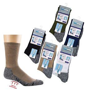 COOLMAX 3 Paar Trekking Socken Wandersocken Sportsocke atmungsaktiv Klimakomfort