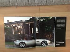 BMW Z8 TEASER BROCHURE 1999.   GERMAN