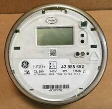 Ge I-210+ Watthour Electric Smart Meter Cl200 240v 3W Fm2S (w/ perforations)