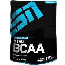ESN Nitro BCAA Premium 500g L-Leucin L-Isoleucin L-Valin Muskelaufbau Aminosäure