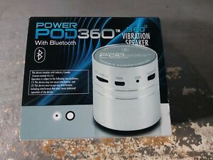 Power Pod 360 Bluetooth Vibration Speaker