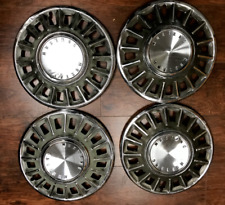 """Factory Original Vintage Ford Mustang Set of 4 14"""" Wheel Covers 1968 #652"""