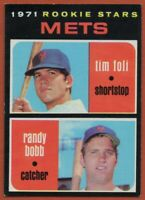 1971 Topps #83 Tim Foli EX-EXMINT+ Rookie RC New York Mets FREE SHIPPING