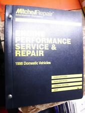 1998 Mitchell Engine Performance Service Manual Chevy Chrysler Buick Ford Gmc