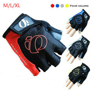 Sports Bike Bicycle Cycling Gloves Half Finger Gel Pad Road Racing Men WomenBAC