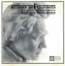 Beethoven Mischa Maisky Martha Argerich Die Cellosonaten Musical Heritage CD Set