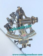 NAUTICAL SHIP ASTROLABE MARITIME ~ BRASS SEXTANT ~ WITH STAND GIFT ITEM