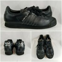 Adidas Samoa Originals Art# G22596 Shoes Sneakers Leather Black Mens Size 11.5