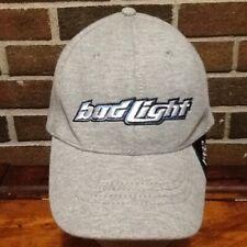 BUD LIGHT Ball Cap OSFA Flex Fit Budweiser Beer 1982 82 Anheuser Busch  EUC