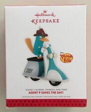 Hallmark 2013 Disney Phineas & Ferb Platypus Agent P Saves The Day Ornament