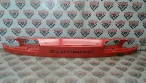 1993-2002 Chevy Camaro SS Z/28 Coupe OEM Rear Tail Finish Panel -- Red-Orange