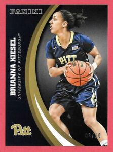 2016 Brianna Kiesel Panini Pittsburgh Panthers Multi-Sport Black 03/10 - Atlanta