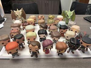 Funko Pop Game Of Thrones Lot Of 34 (VERY RARE: HOUND, JOFFREY, JAIME)LOOSE OOB