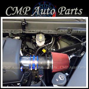 BLUE RED 2007-2011 GMC ACADIA DENALI SL SLE SLT 3.6 3.6L V6 AIR INTAKE KIT