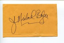 John Michael Bolger Third Watch Beauty and the Beast Signed Autograph