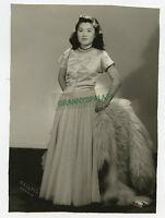 Older Studio Photo - Pretty Young Japanese Girl - Long Dress - Denver, Colorado