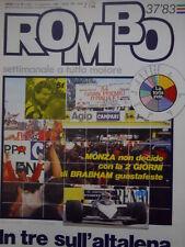 ROMBO 37 1983 Freddie Spencer tutto casa , moto e chiesa