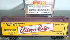 Muessel brewing co 40 Double sheathed micro trains 049 00 670 n 1:160 OVP hs3 Å