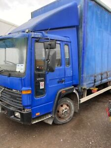 VOLVO FLC 7.5 TON 20' CURTAINSIDE 1996 MANUAL PUMP AND GEARBOX ON STEEL EXPORT