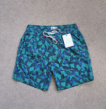 03bba98065 Fat Face Mens Fistral Tropical Swim Shorts (Size S) Swimmer Christmas Gift