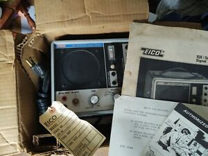 Eico Signal Tracer Model 150 Solid State all Original paper work & box