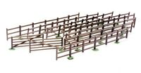 "Dapol  ""OO/HO"" Fences & Gates (8 Strips) 1200mm x 20mm C023"